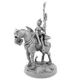 IMPERIAL SOLDIER BLITZ KRIEG KORPS MOUNTED FEMALE COMMISSAR