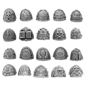 CHAOS EGYPT SONS SHOULDER PADS (20U)