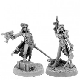 IMPERIAL SOLDIER FEMALE COMMISSAR PACK