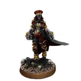 IMPERIAL SOLIDER FEMALE COMMISSAR WITH FISTS OF POWER