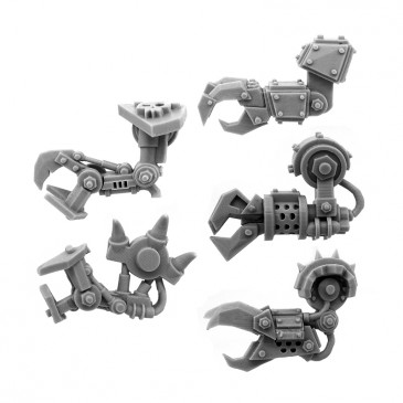 ORK CYBORG CONVERSION BITS BIONIC CLAW ARM (5U) (LEFT)