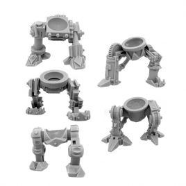 5 CYBORG ORK CONVERSION BITS  BIONIC LEGS  T1 28MM