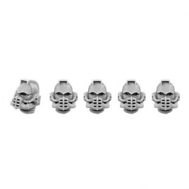 5 BISMUTHUM HEADS SET IN 28MM