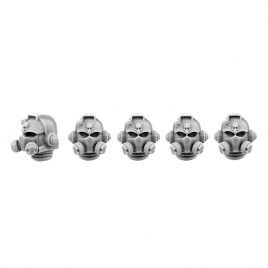 5 RUBIDIUM HEADS SET IN 28MM