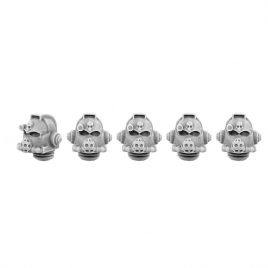 5 THORIUM HEADS SET IN 28MM