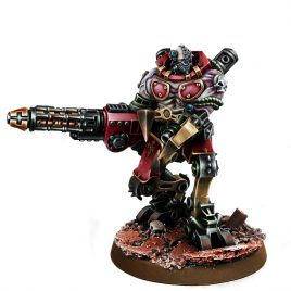 MECHANIC ADEPT KATATON BATTLE SERVITOR SERGEANT WITH GRAVI-CANNON