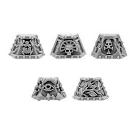 CHAOS EGYPT SONS PYRAMID SHOULDER PADS (5U)