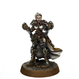 HERESY HUNTER FEMALE INQUISITOR BRIENNE LONGKNIVES