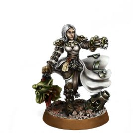 HERESY HUNTER FEMALE INQUISITOR XENO TRAPPER