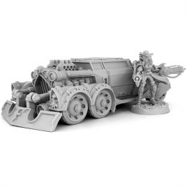 HERESY HUNTER FEMALE INQUISITOR WITH RAZOR BLADE CAR
