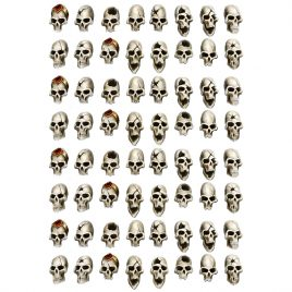 ELF SKULLS [IN 28MM SCALE] (64U)
