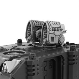 IMPERIAL SMALL MISSILE LAUNCHER TURRET [CONVERSION SET]