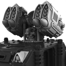 IMPERIAL W-WIND MISSILE LAUNCHER TURRET [CONVERSION SET]