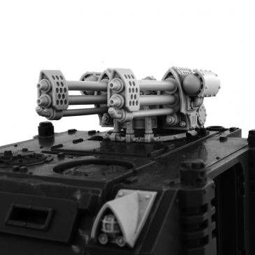 IMPERIAL HEAVY FLAMER TURRET [CONVERSION SET]