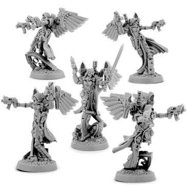 EMPEROR SISTERS ANGELS SQUAD (5U)
