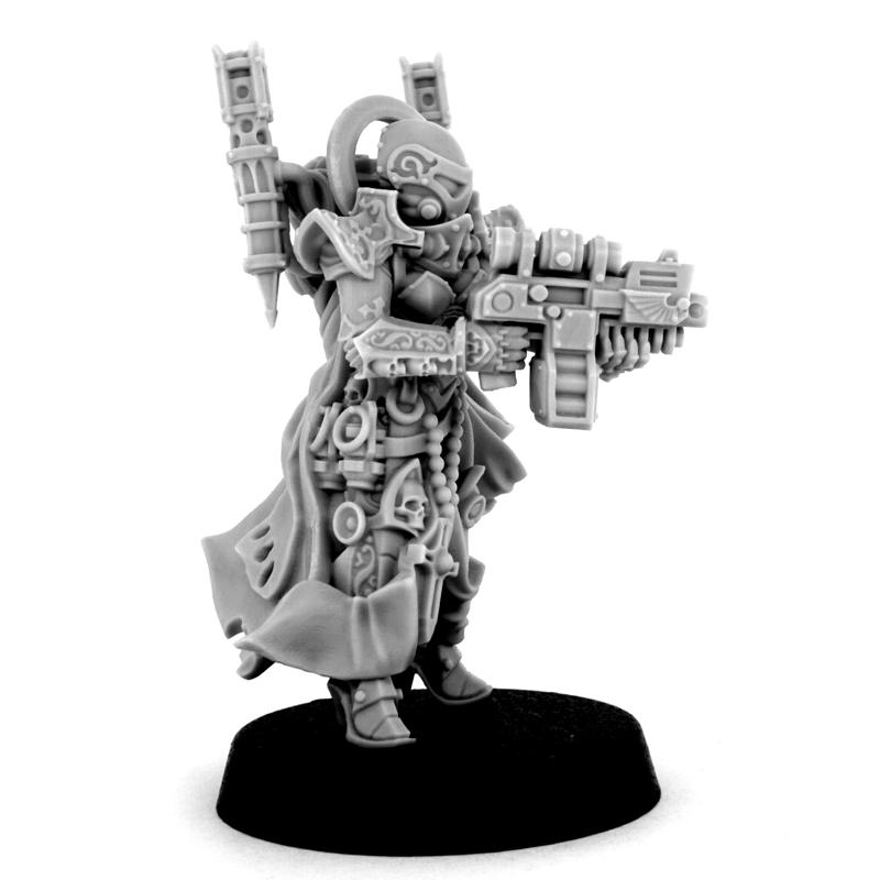 EMPEROR SISTER with storm boltgun