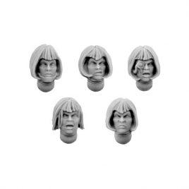 EMPEROR SISTERS HEADS SET (5U)