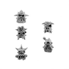 ORK CYBORG CONVERSION BITS BIONIC HEADS H-804 (5U)