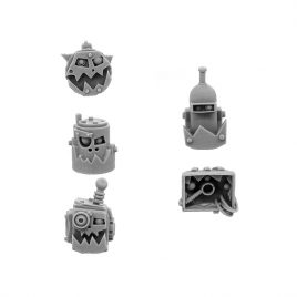 ORK CYBORG CONVERSION BITS BIONIC HEADS H-801 (5U)
