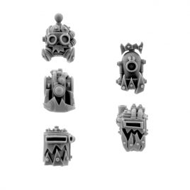 ORK CYBORG CONVERSION BITS BIONIC HEADS H-805 (5U)