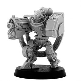 MECHANIC ADEPT BATTLE SERVITOR WITH HEAVY BOLTGUN (HM)