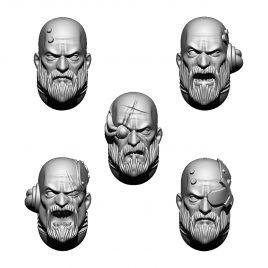 IMPERIAL TEMPLAR HEADS SET (5U)